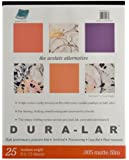 Grafix Matte 0.005 Dura-Lar Film, 9-Inch by 12-Inch, 25 Sheets