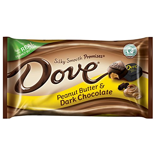 DOVE PROMISES Peanut Butter & Dark Chocolate Candy 7.94-Ounce Bag