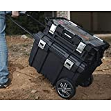 Husky 26 in. Connect Mobile Tool Box Black With