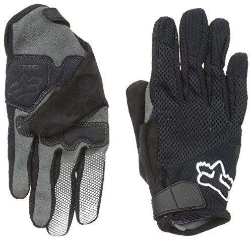 Fox Women's Reflex Gel Gloves, Black, (Reflex Full Finger Gel)