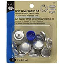 Dritz Craft Cover Button Kit, Size 36