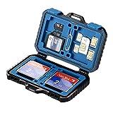 Adventurers Memory Card Case Memory Card Holder SD Card case CF Card case TF Card case 4CF + 8SD + 12TF + 1CARD PIN