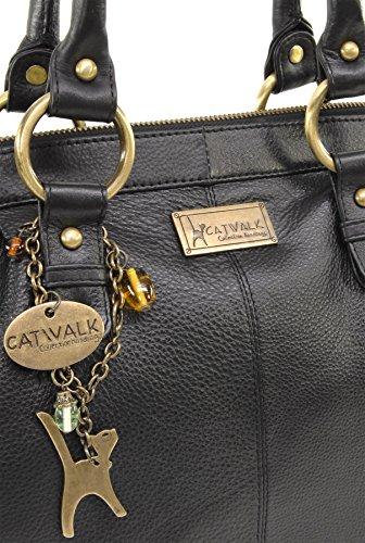 Catwalk Bolso Handbags Cuero Doctor Collection Negro wrSZqfwnH