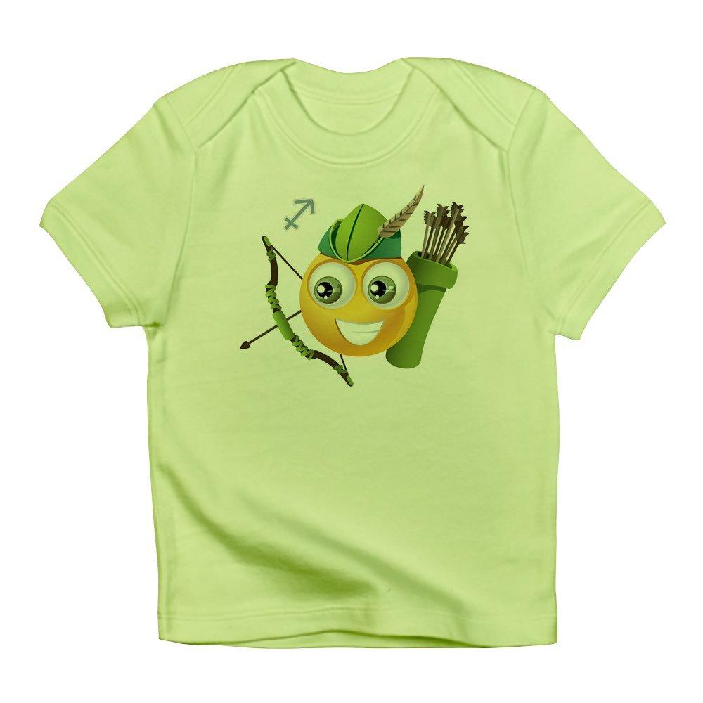 Kiwi Truly Teague Infant T-Shirt SmileyFace Zodiac Sagittarius 6 To 12 Months