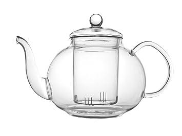 Glas Teekanne bredemeijer verona einwandige glas teekanne 1l inkl filter amazon
