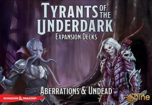 "Dungeons & Dragons - Tyrants of the Underdark ""Aberrations & Undead"" Game Expansion"