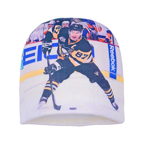 Forever Fanatics Pittsburgh Sidney Crosby #87 Hockey Beanie ✓ Digital Graphic Printing ✓ Pefect Hockey Fan Gift (One Size Fits All, Crosby #87 Beanie)