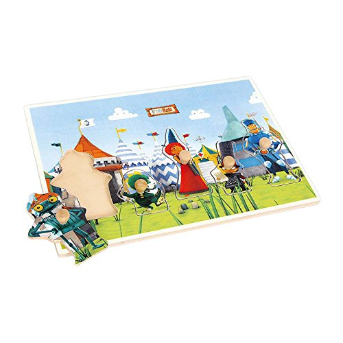 Legler Ritter Rost Stacking Puzzle Wooden Puzzles
