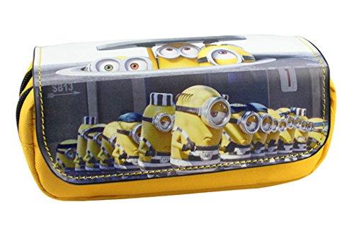Estuche Escolar La caja de lápiz para la escuela dos compartimentos Minions Gru: Mi villano favorito 3 Underground