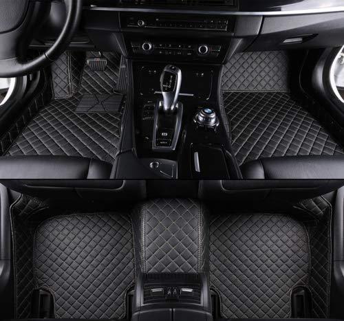 FidgetKute All-Weather Floor Mats FloorLiner Fit for Lexus GX470 2004-2009 FLY5D Black