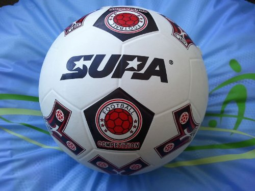 50 CT - Supa Rubber Soccer Balls. Official Size & Weight. Size 5