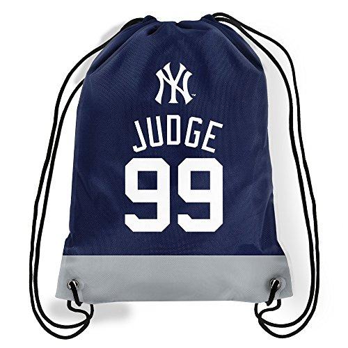 AARON JUDGE NEW YORK YANKEES #99 JERSEY DRAWSTRING BACKPACK