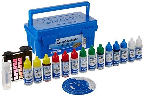 (Taylor Technologies K-2005-SALT Test Kit Complete High)