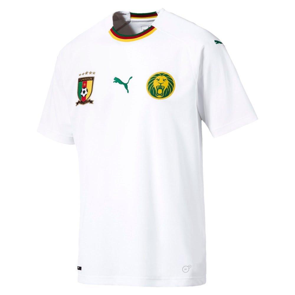 Puma 2018-2019 Cameroon Away Football Soccer T-Shirt Trikot