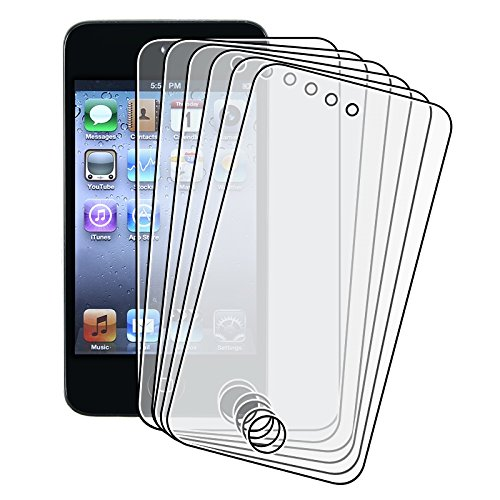 - Importer520 6 Pack Anti-Glare Anti-Finger LCD Screen Protector Cover Guard Film For Apple iPod Touch 4th Generation Gen