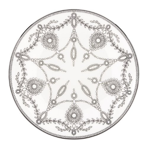 Lenox Marchesa Couture Accent Plate, Empire Pearl