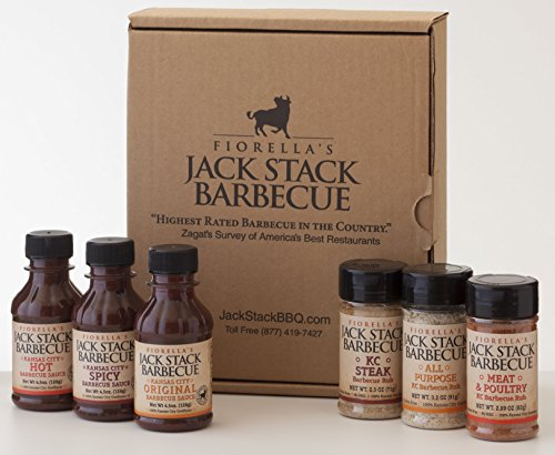 Jack Stack Mini Sampler Gift Set by Jack Stack