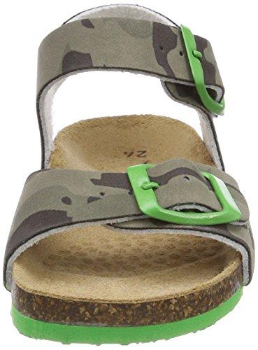 Primigi PBK 14266, Zapatillas Para Niños Grigio (Militare)