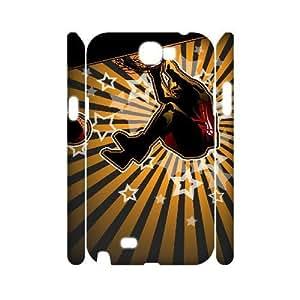 ALICASE Hard case Basketball 3D Diy For Samsung Galaxy Note 2 N7100 [Pattern-1] Kimberly Kurzendoerfer