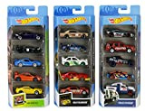 Hot Wheels American 5-Pack 1:64 Scale Die-Cast Cars Collectors of All Ages Premium Graphics Exclusive Great Gift Idea 3 Years and Older [Amazon