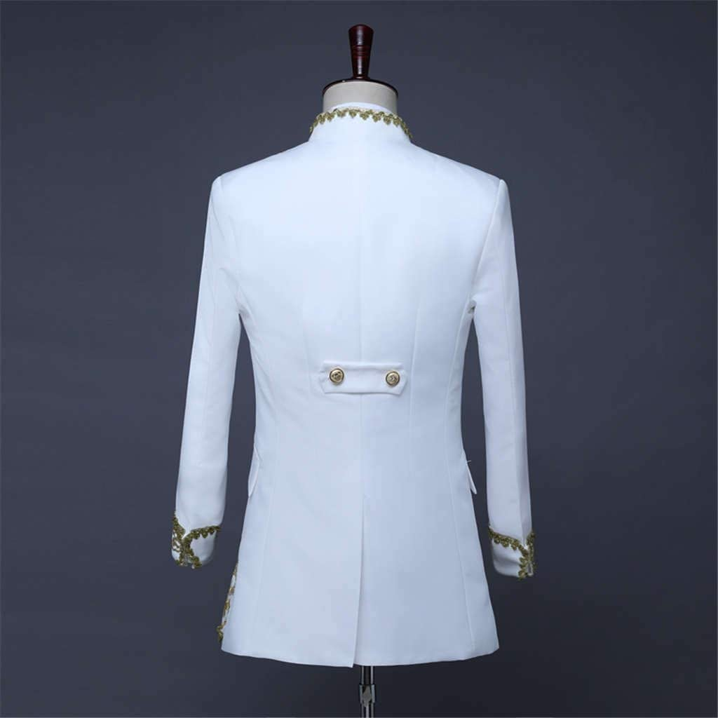TOPBIGGER Men/'s Fashion Suit Jacket Blazer Weddings Prom Party Dinner Tuxedo