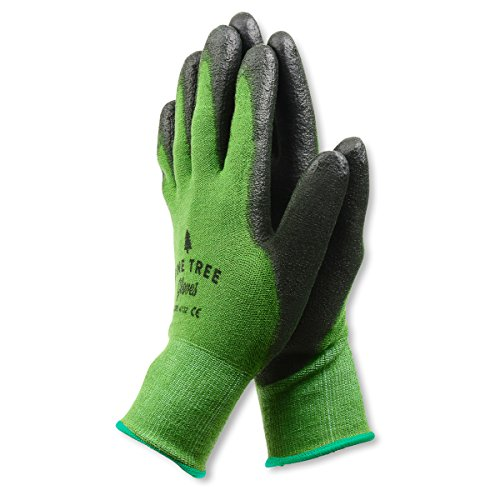 Bamboo Working Gloves Ultimate Barehand Sensitivity Work Glove for Gardening, Breathable by Nature!