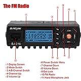 Ciglow Mobile Car Radio, Mini Auto Car Mobile FM Radio VHF/UHF Dual-Band Vehicle Transceiver Walkie Talkie.