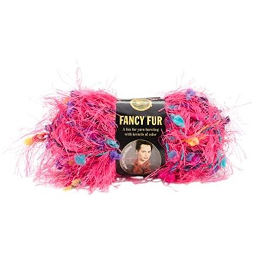 Skeins Lion Fancy Fur Yarn - Fancy Fur Yarn-Party Pink