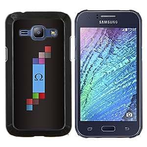 EJOOY---Cubierta de la caja de protección para la piel dura ** Samsung Galaxy J1 J100 ** --Omega