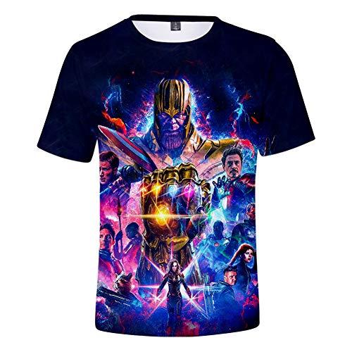 (Unisex 3D Avenger's Endgame T-Shirt| Premium Superhero Shirt Casual)