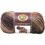 Lion Brand Yarn  545-203 Landscapes Yarn, Sand Dune
