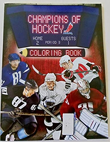 Champions of Hockey Coloring Book Nhlpa: NHLPA: 0062255078654 ...