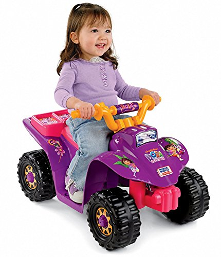 Original - 1 Pack - Power Wheels Dora Lil Quad