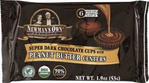Newman's Own Organics Dark Chocolate Peanut Butter Cups (16x1.9 Oz)
