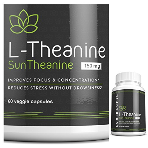 Suntheanine L Theanine Capsules Support Guarantee product image