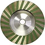 "4"" Slayer Resin filled Turbo Cup Wheel Alum Backer -- Fine"