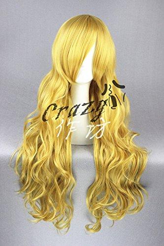 Custom (home) fog rain Marisa Jigme cotton flower leaf this month Feng Ji 80 yellow wig