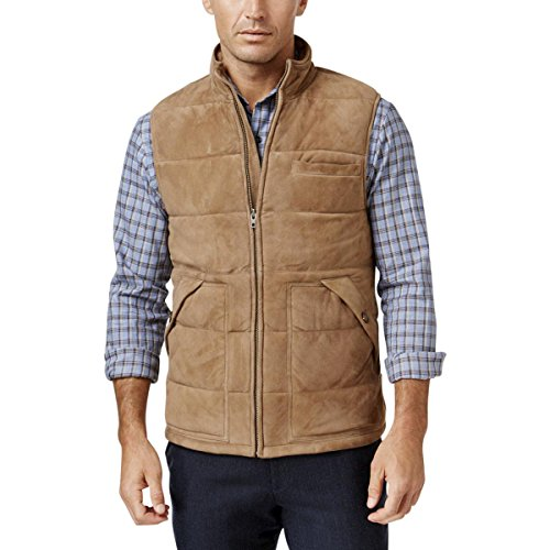 Quilted Faux Suede Vest - 5