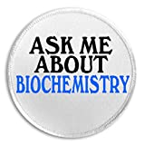 Ask Me About Biochemistry - 3' Sew/Iron On Patch Major Career