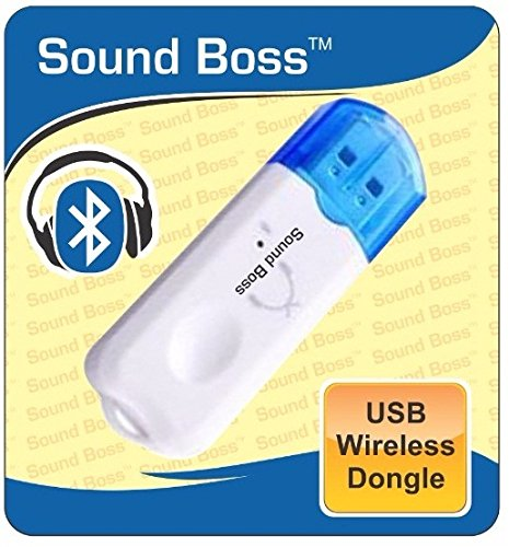 Sound Boss BT-03 USB Bluetooth Receiver Dongle With Mic (White)