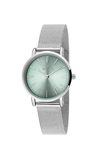 6c32bbdca379 Reloj NOWLEY Mujer Cadena MILANESA  Amazon.es  Relojes