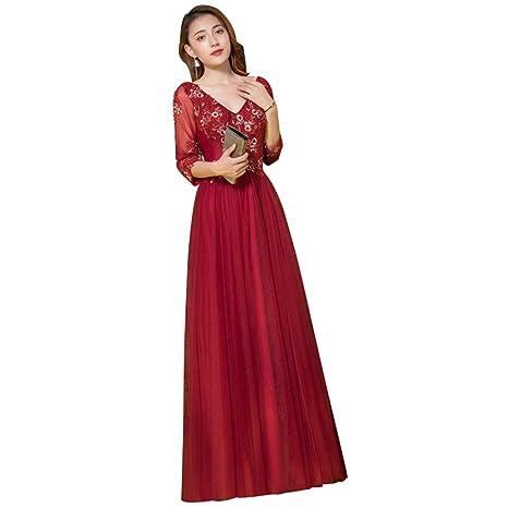 Vestido De Dama De Honor De La Boda Temperamento Elegante