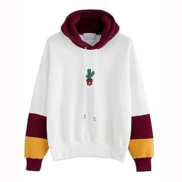 Damen Abstrakte Kunst Gedruckt Sweatshirt Long Sleeve Top GreatestPAK
