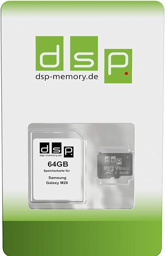 Dsp Memory 64gb Speicherkarte Für Samsung Galaxy M20 Computer Zubehör