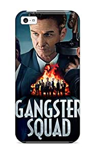 New Premium CaseyKBrown Gangster Squad Skin Case Cover Excellent Fitted For Iphone 5c