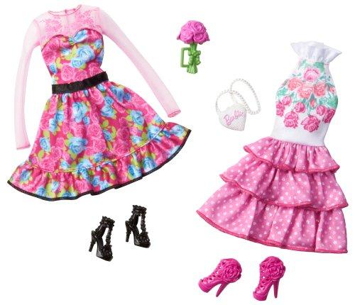[해외]Barbie Day Looks 꽃무늬 정원 파티 패션 팩 / Barbie Day Looks Floral Garden Party Fashion Pack
