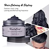 Black Temporary Hair Dye Wax 4.23 oz, HailiCare