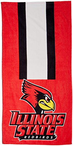 The Northwest Company NCAA Illinois State Beach Towel, One Size, Multicolor by The Northwest Company