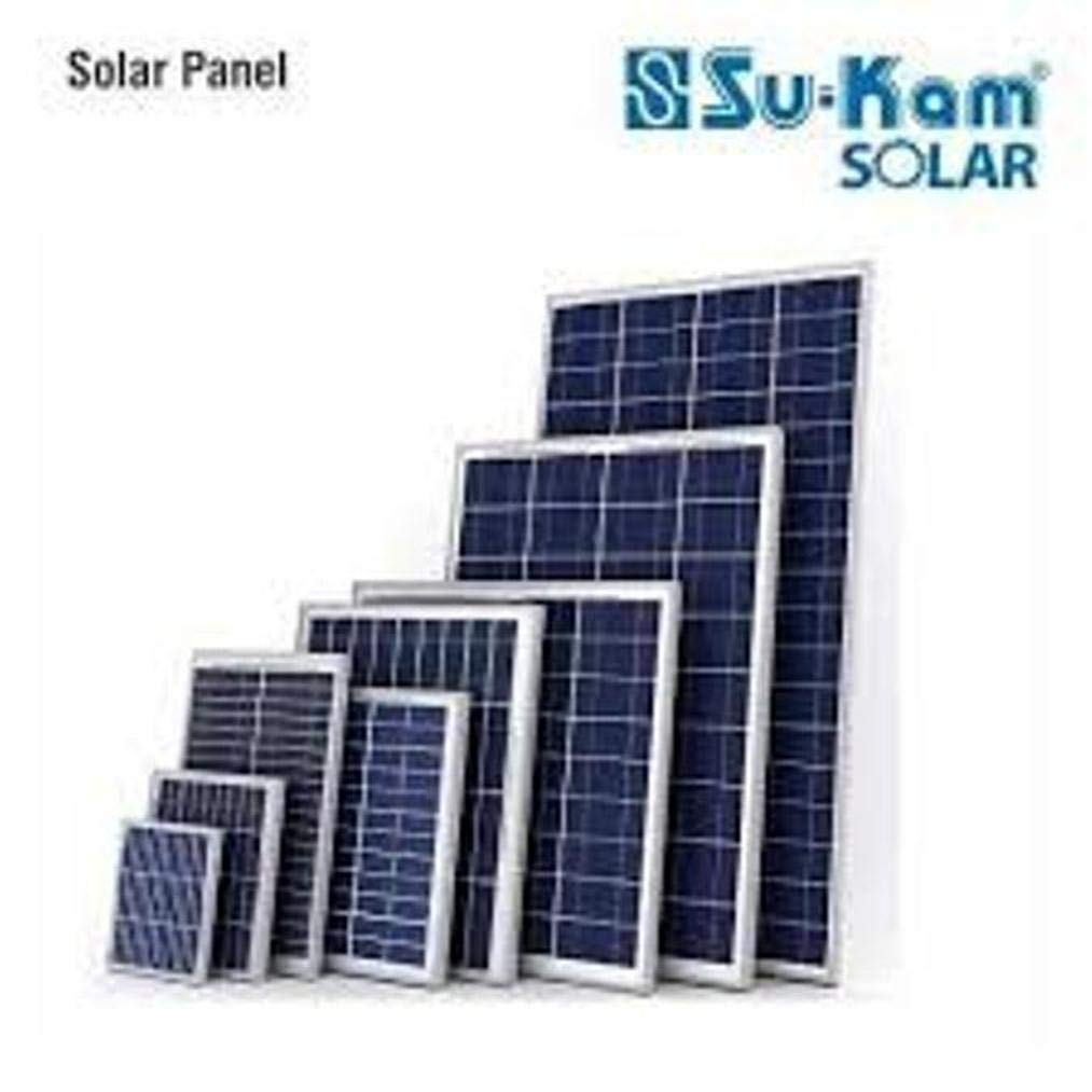 Sukam Solar Panel 300 Watt 2 Nos X150watt 12v Amazon In Garden Outdoors