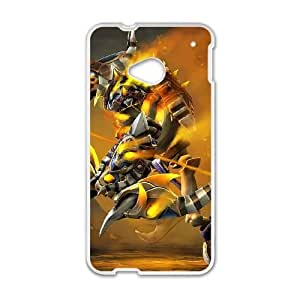 HTC One M7 Cell Phone Case White Defense Of The Ancients Dota 2 CLINKZ 003 UW1092047